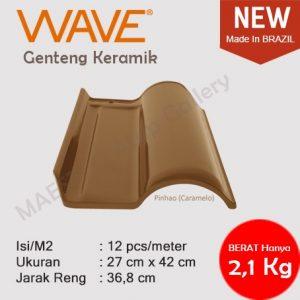 Genteng Keramik Wave - Caramelo